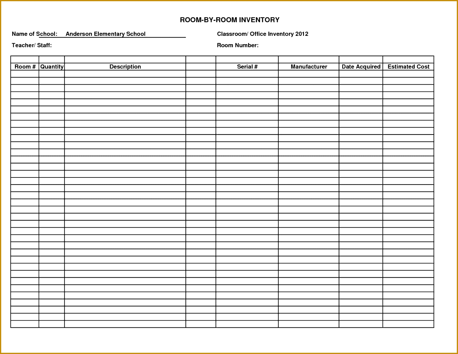 inventory cycle count template and 15341185