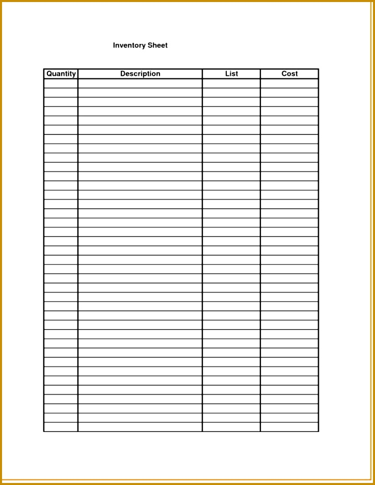 liquor inventory spreadsheet 952736