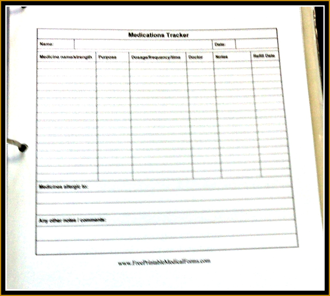 medication log sheet 86316 medication administration record template