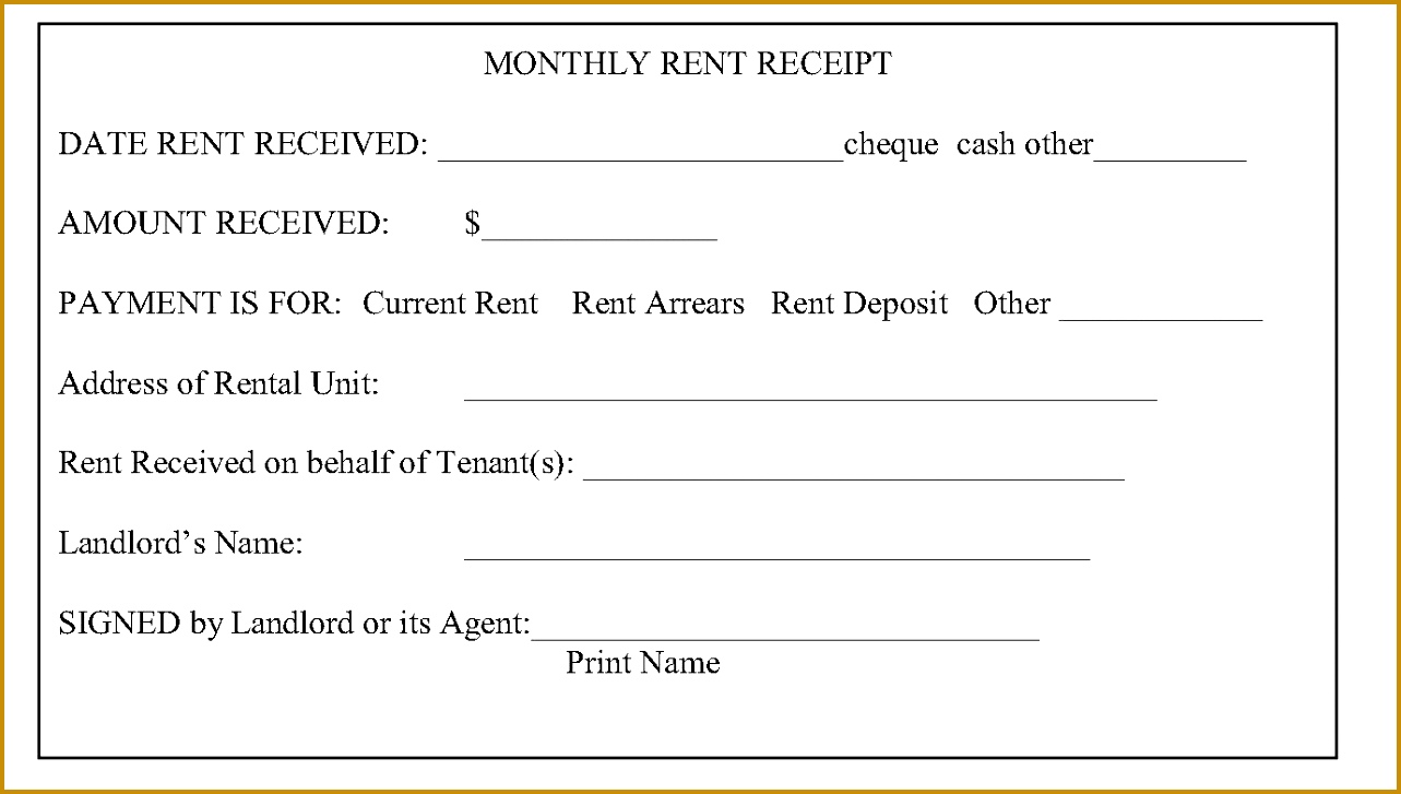 rent receipts what is required from 7271283