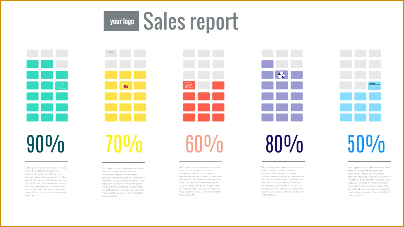 sales report Prezi template 7441322