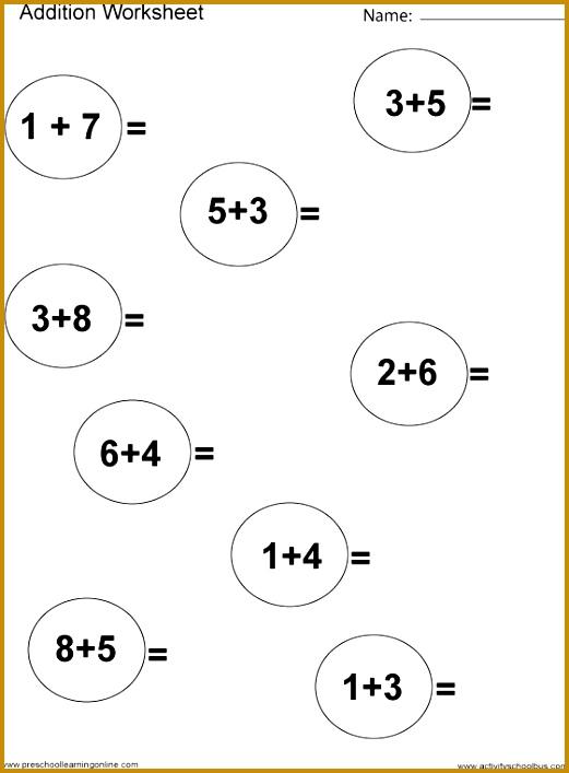 Easy Subtraction Worksheets 1St Grade Worksheets for all Download and Worksheets 707521