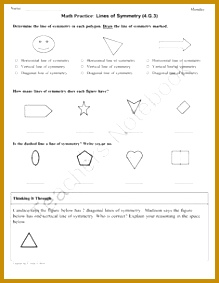 Pre School Worksheets math worksheets for 4th grade symmetry 1000 images about symmetry on 283219
