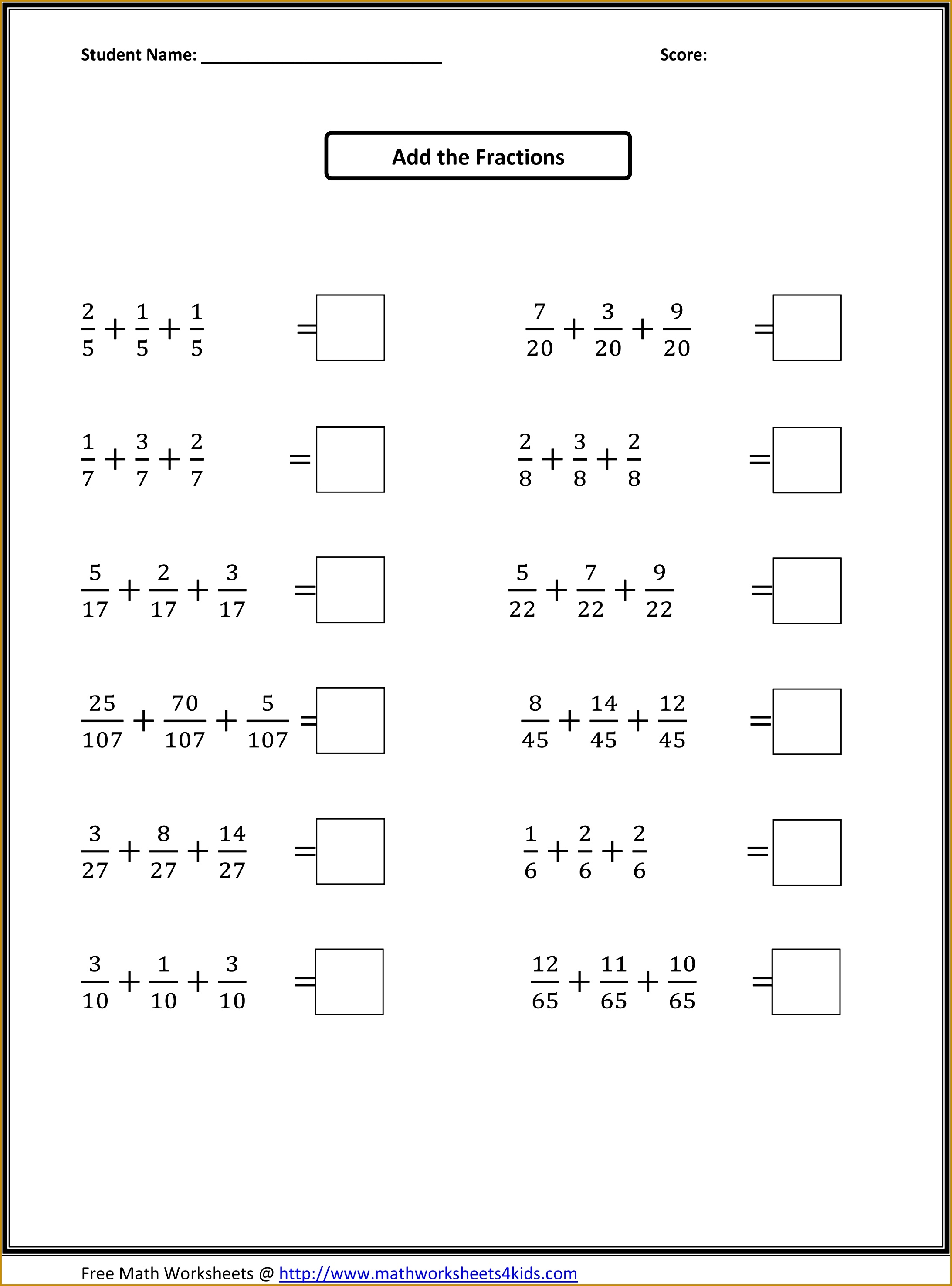 4Th Grade Math Sheets To Print Worksheets for all Download and Worksheets 29512185