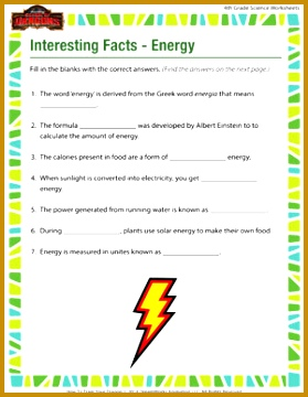 Science Energy Worksheets Worksheets for all Download and Worksheets 360279