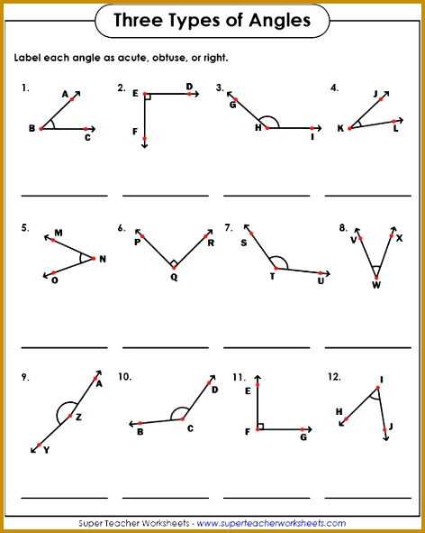 Free Math Worksheets Types Angles With Angle Worksheets Free Math Worksheets Types Angles With Angle Worksheets 591472