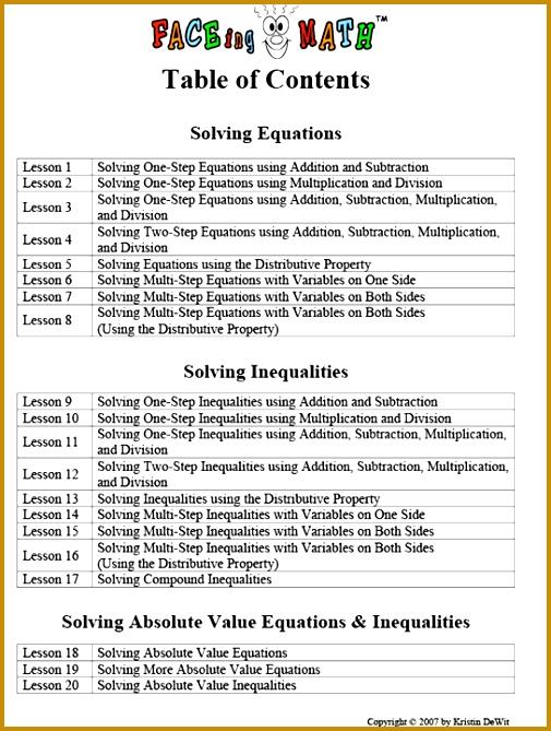 6th Grade Facing Math Worksheet Printable 6th Best Free Printable Worksheets 669505