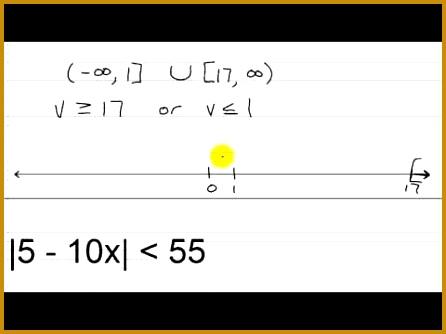 Algebra II Main Lesson V 2 Solving Absolute Value Inequalities 446334