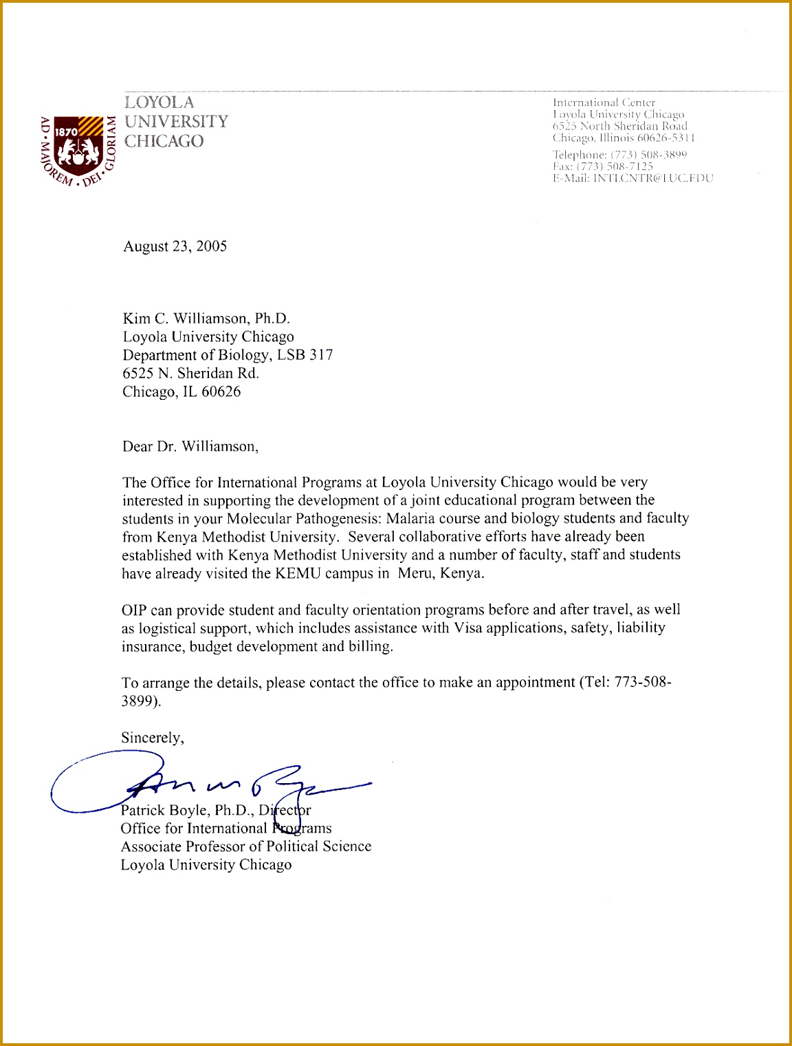 Formal Letter Example University Collection solutions Writing A University Re mendation Letter 11521520