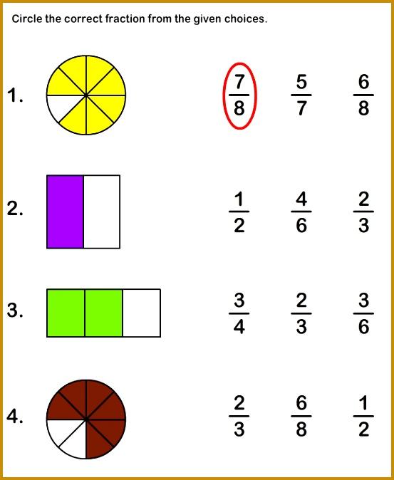 Math Worksheets Grade 2 Worksheets Fractions Worksheet I don t like worksheets 674553