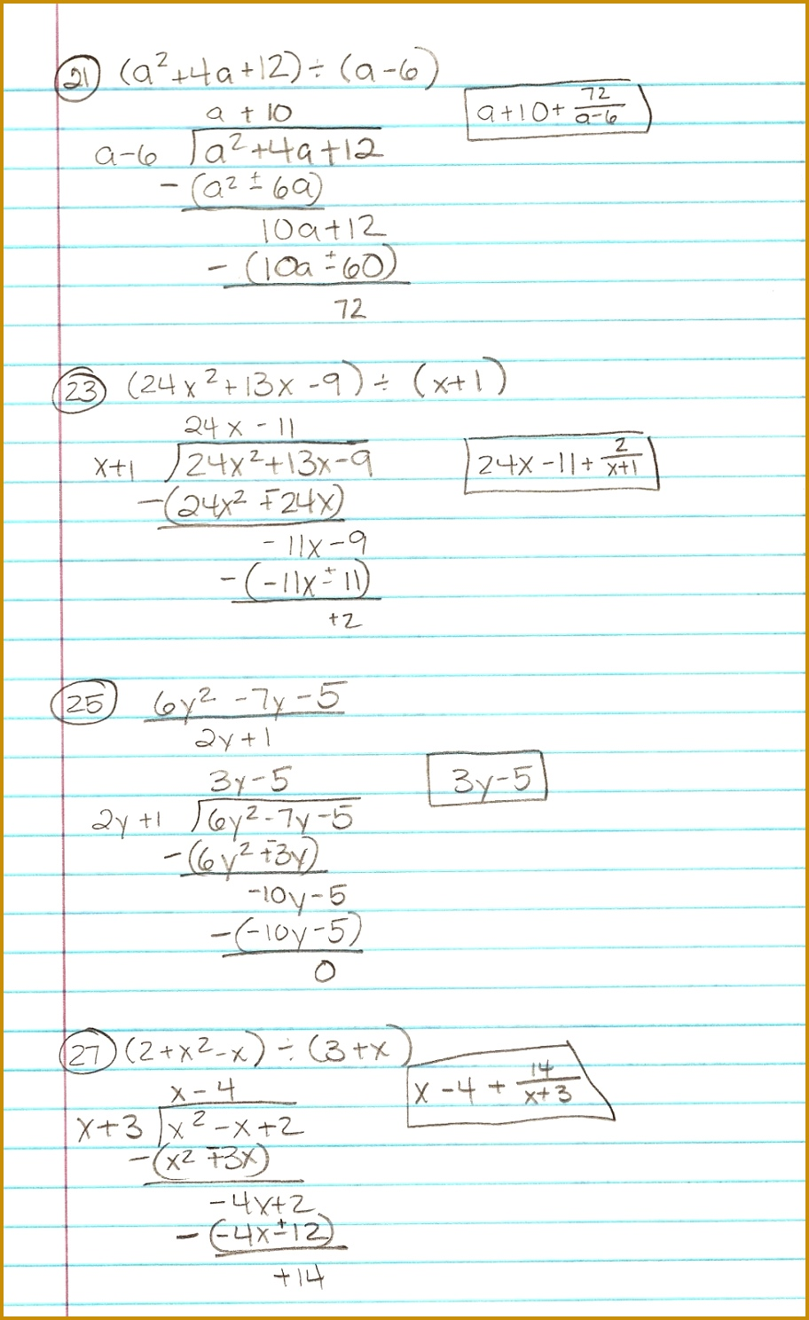 Algebra 2 Polynomials Worksheet 1488912