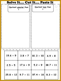 Multiplying Decimals Dividing Decimals Adding Decimals & Subtracting Decimals 325244