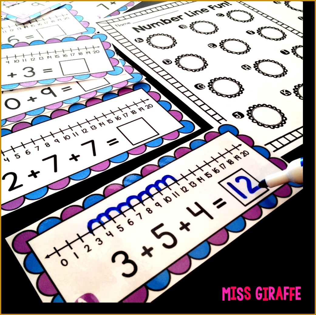 Adding 3 Numbers centers and worksheets that are a lot of fun lots of great 10391041