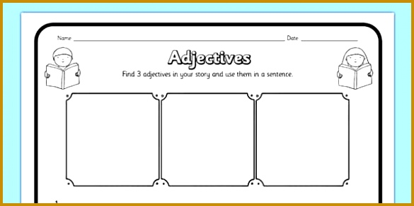 Adjectives prehension Activity Sheet 292585
