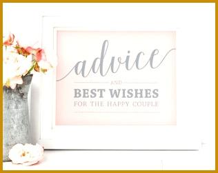 Printable Advice Sign and Advice Cards Wedding Pink Advice Sign Printable Advice Cards 251316