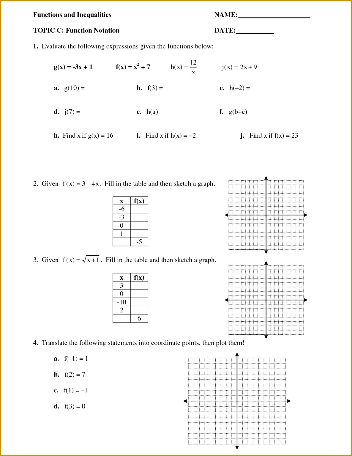Function Operations Algebra 2 Worksheet Worksheets for all Download and Worksheets 15341185