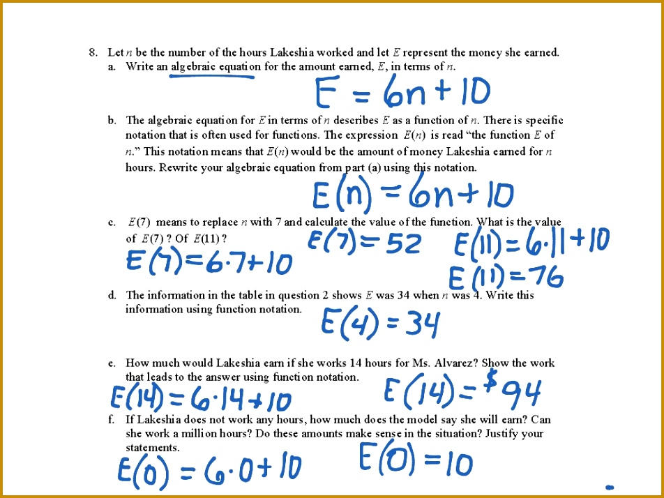 7 8f connecting tables graphs and function notation Math Algebra functions 952714