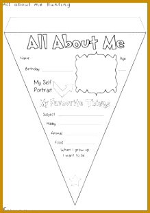 Teacher s Pet – Ideas & Inspiration for Early Years EYFS Key Stage 1 and Key Stage 2 All About Me Bunting 310219