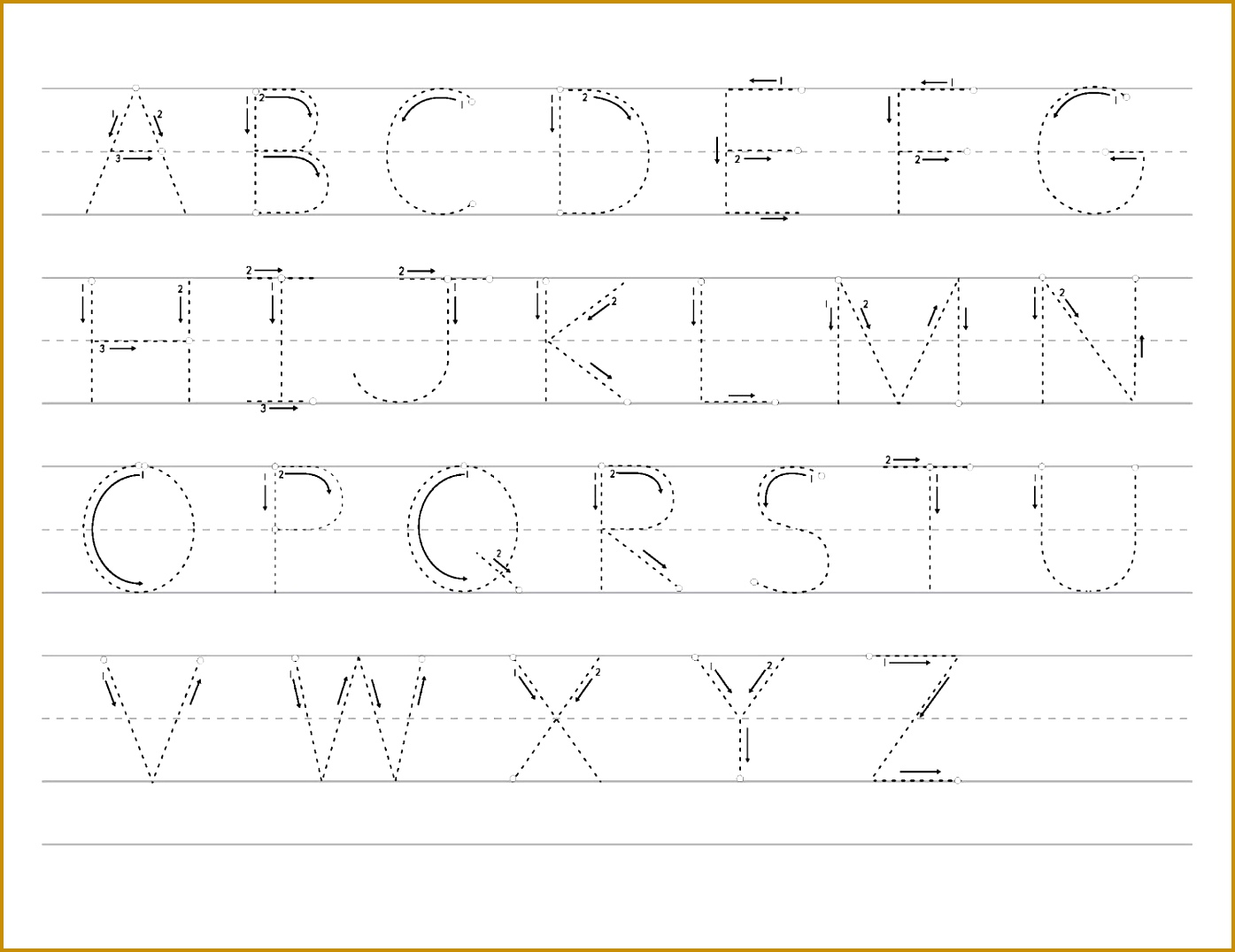 Printable letter to trace activity shelter for Letters sheet Trace the letters worksheets 10761395