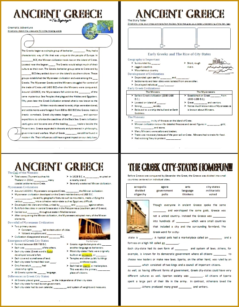 Here s a lesson I made about The beginnings of ancient Greece with the Civilizations that lead 991772