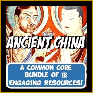Ancient China Activity and Note Bundle mon Core Grades 5 8 awesome bundle 325324