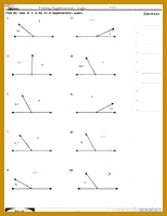 Képtalálat a következőre find the angle Worksheet 199154