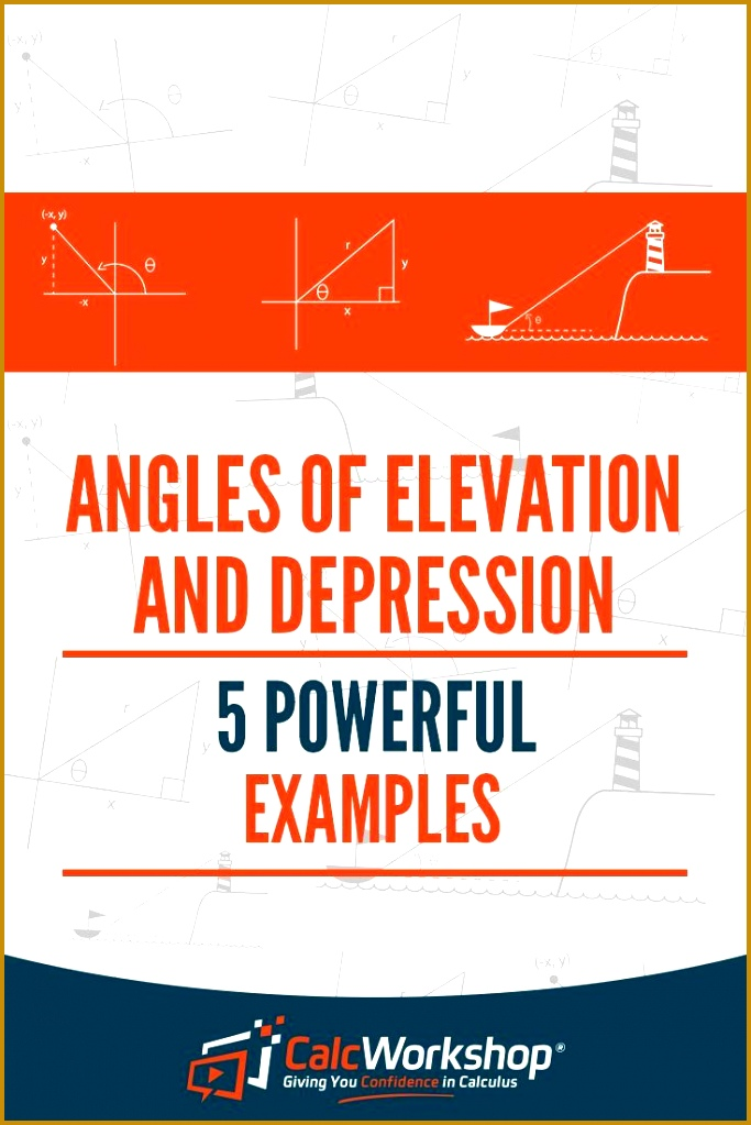 Angles of Elevation and Depression 5 Powerful Examples 1023683