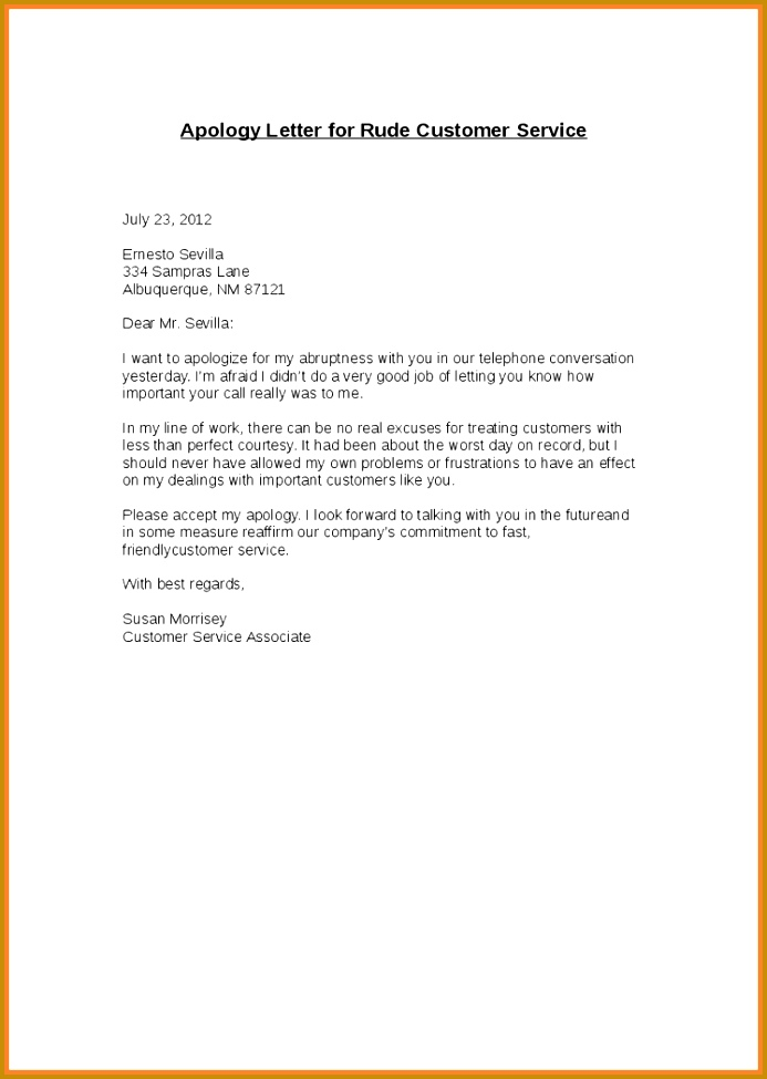 3 apology letter for bad service sample fabtemplatez apology letter for bad service sample 38979 business apology letter for poor customer service monpence spiritdancerdesigns Gallery