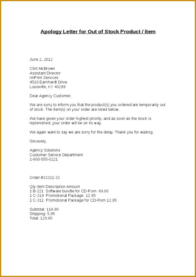 Brilliant Ideas Sample Apology Letter To Boss Formal Apology Letter For Not Fancy How 958677