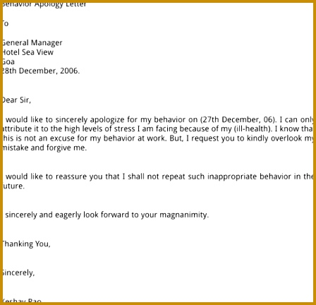 apology letter for misconduct 01 432448