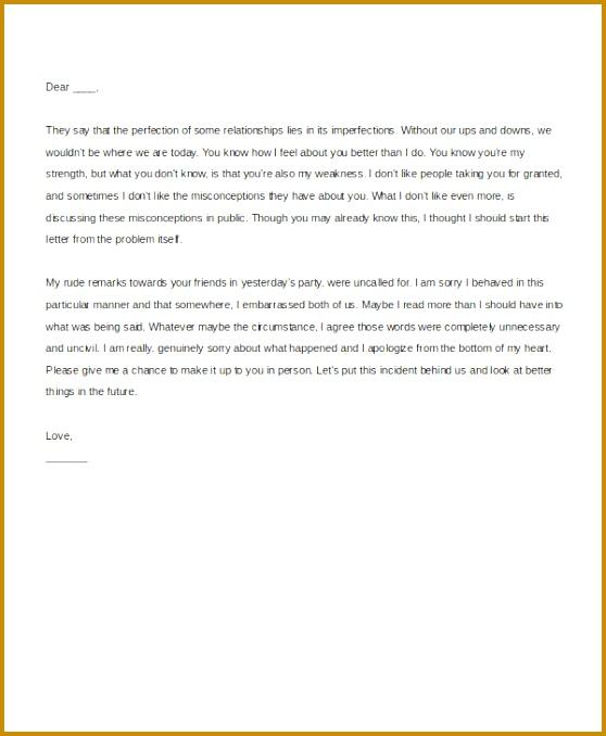 Apology Letter to Boyfriend 678558