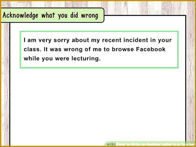 Image titled Write an Apology Letter to a Teacher Step 1 507677