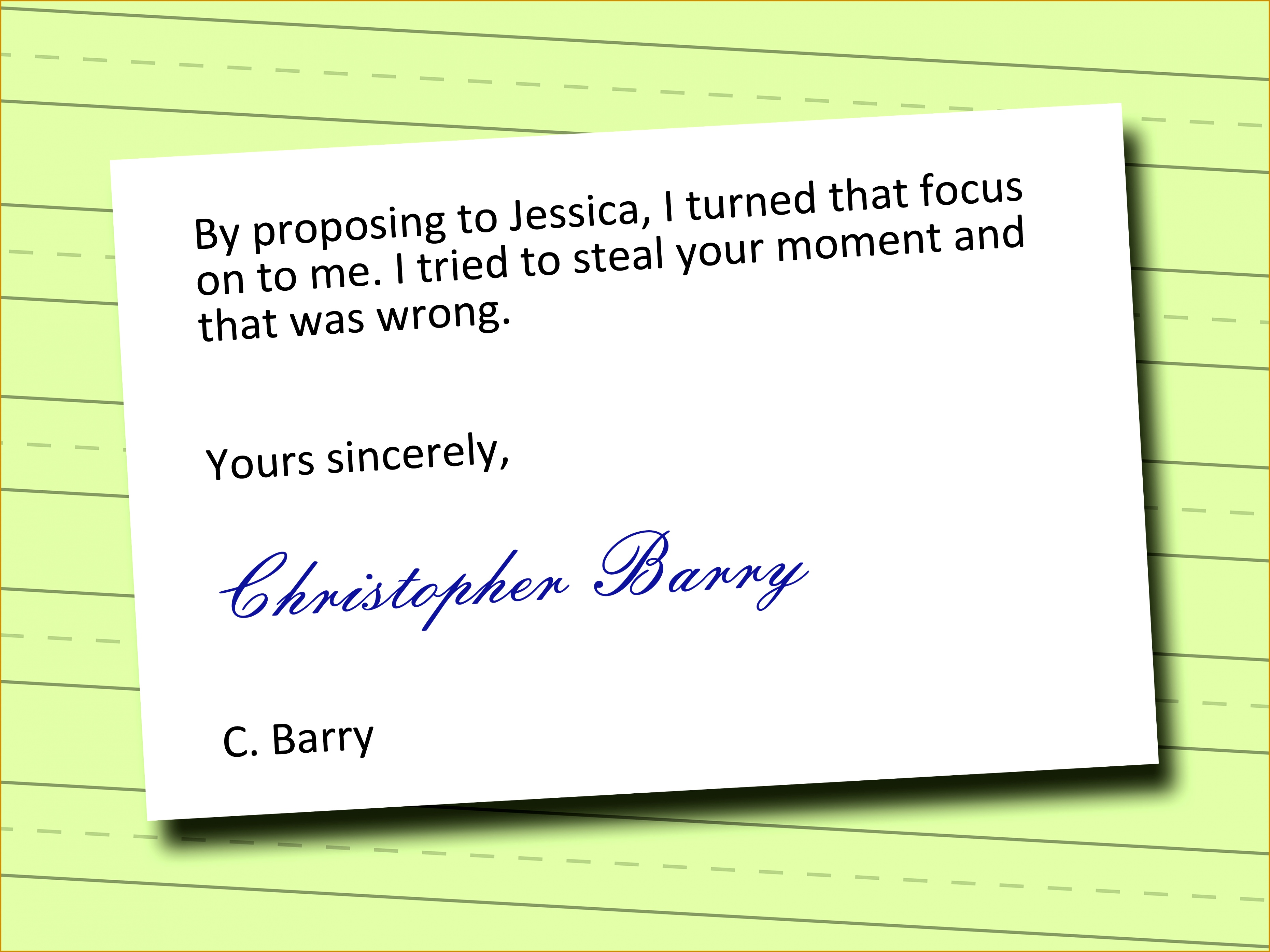 7 Apology Letter Wording