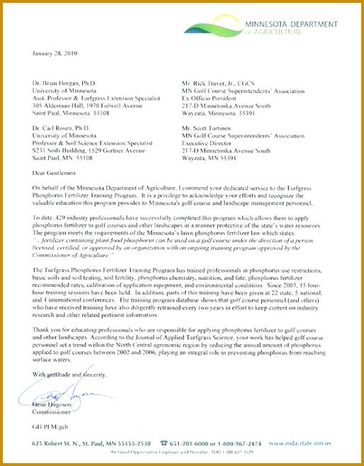 Best Appreciation Letter To Boss Ideas New Training Program Yard And Garden News University Minnesota 658514