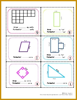 MD 7 8 Area and Perimeter SCOOT with Rectangluar 325251