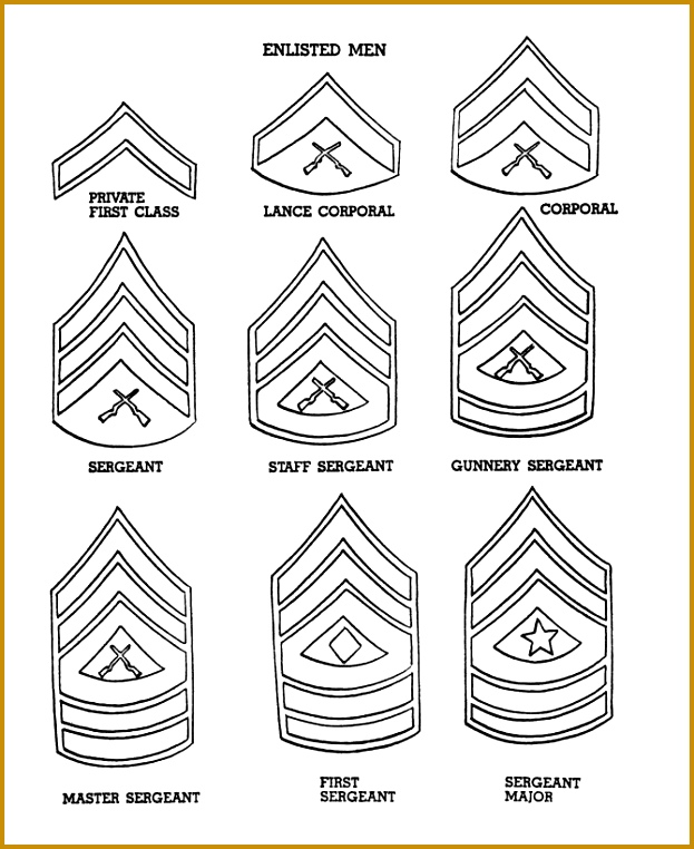 Pages US Army Rank Insignia American 762623