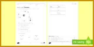 Atoms and Elements Homework Activity Sheet 160320