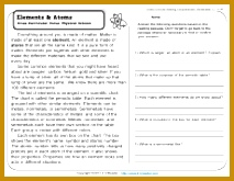 Elements and Atoms 213165