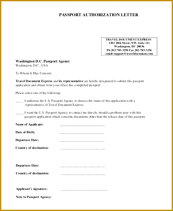 sample authorization letter examples pdf passport application parental consent form fill online printable 678558