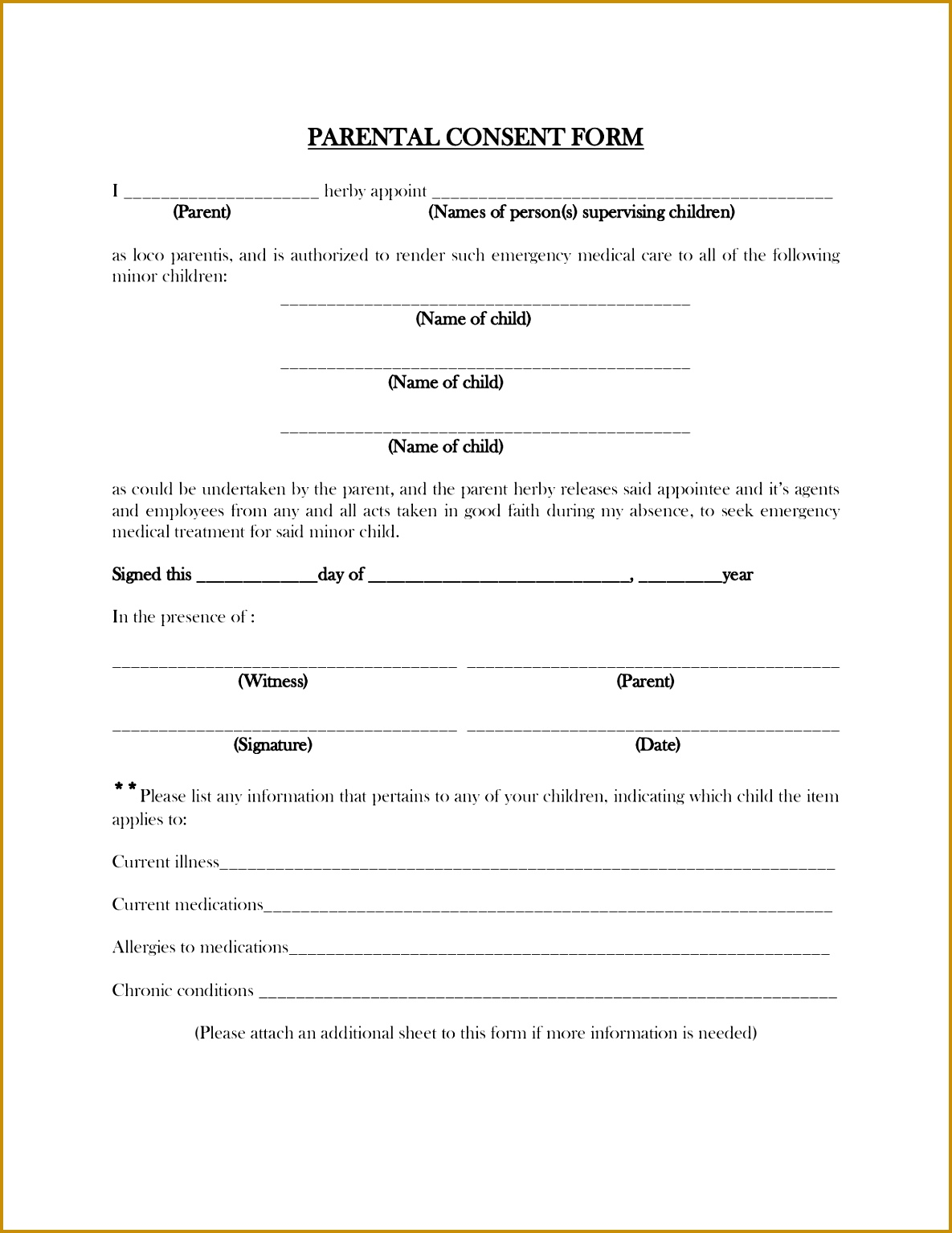 Free Child Medical Consent Form Road Worker Cover Letter Parental Travel Consent Form Template Free 15341185