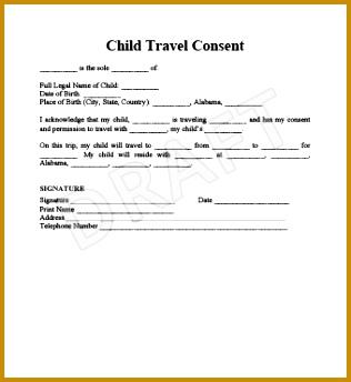 Child Travel Consent 1 344316