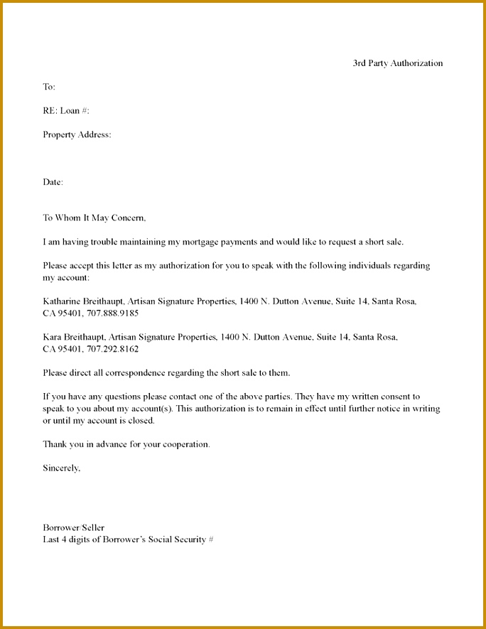 10 best Authorization Letters images on Pinterest Letter writing example of authorization letters 885684