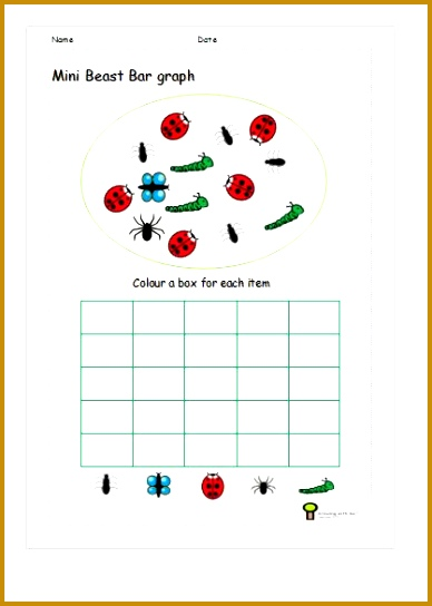 bar graph worksheets for bar graphs for 6 year olds 544388