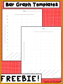 FREE Bar Graph templates with and without a scale for a variety of data 292219