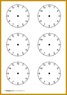 Blank Clock Worksheets 22353 Analogue Clock Worksheet Maker Make Your Own Tailored Worksheets