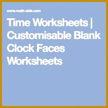 Blank Clock Worksheets 47731 9 Round Clock Faces without Hands Call Number Ta 55 45