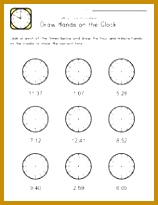 Blank Clock Worksheets 52645 24 Best Time Worksheets Images On Pinterest