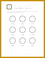 Blank Clock Worksheets 61278 Kids Clock Worksheet 15 Minute Intervals