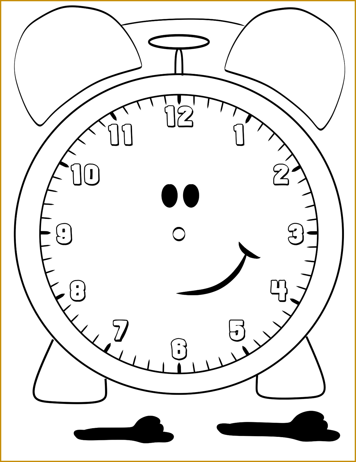 Blank Clock Worksheets 77599 Blank Clock Faces for Kids Rel³gio Pinterest