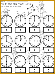 Blank Clock Worksheets 83588 Clock Face with Minutes Printable Worksheets